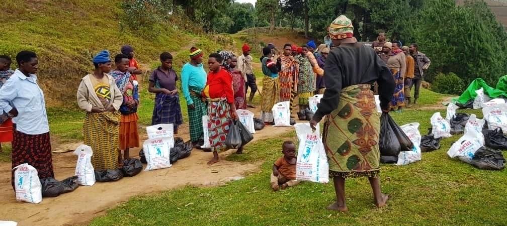 Nahrung und Ziegen für Uganda